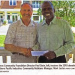 Sierra Pacific Industries Donation to Calaveras Community Foundation